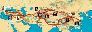 Silk Road in Iran